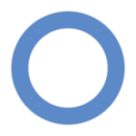 Mezinárodní symbol diabetu - modrý kruh