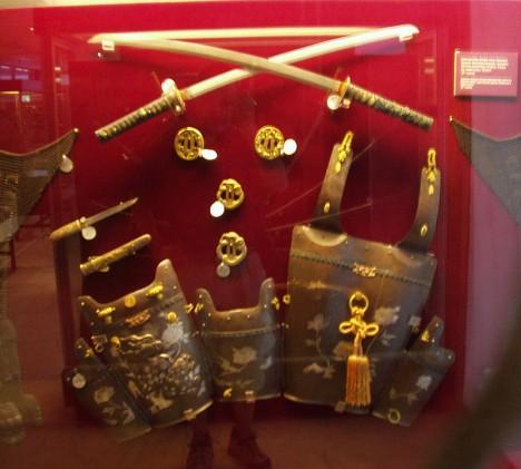 Athens War Museum: Japanese Arms