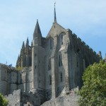 Mont-St-Michel - The abbey