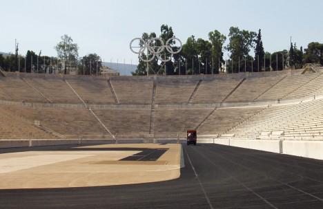 Athens: Panathinaiko (Kallimarmaro) Stadium