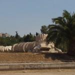 Athens: Temple of Olympian Zeus - fallen column