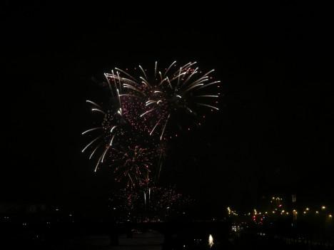 Prague Fireworks on Jan 1, 2012 (1/6)