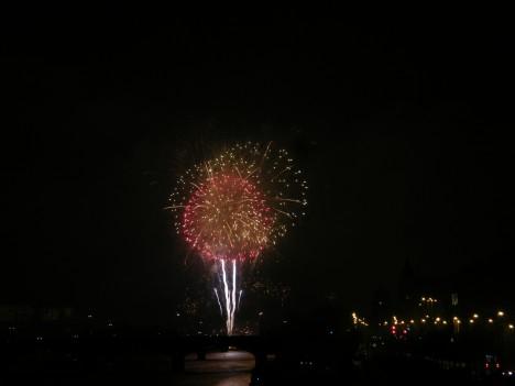Prague Fireworks on Jan 1, 2012 (3/6)