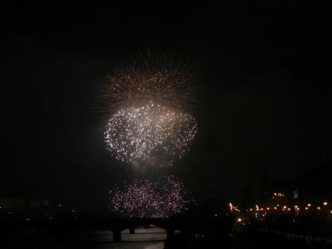 Prague Fireworks on Jan 1, 2012 (5/6)