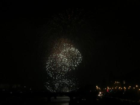 Prague Fireworks on Jan 1, 2012 (6/6)